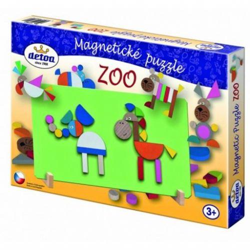 Detoa Magnetické puzzle Zoo cena od 204 Kč