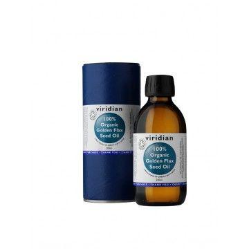 Viridian 100% Organic Golden Flax Seed Oil 200 ml