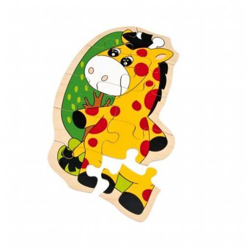 Legler dřevěné puzzle Žirafa cena od 137 Kč