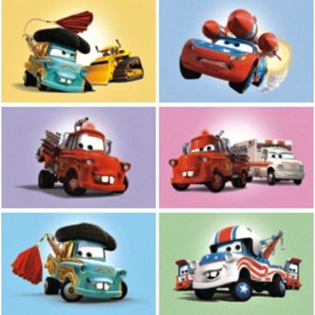 Dino Toys obrázkové kostky Cars cena od 161 Kč