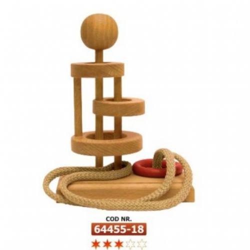 D-TOYS Dřevěné Hlavolamy Basic 18 cena od 239 Kč