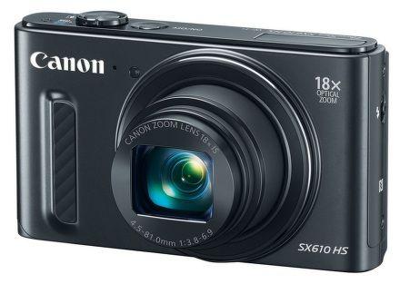 Canon PowerShot SX610 HS cena od 3990 Kč