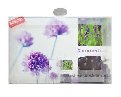 BANQUET Flower plastové prostírání 12 ks