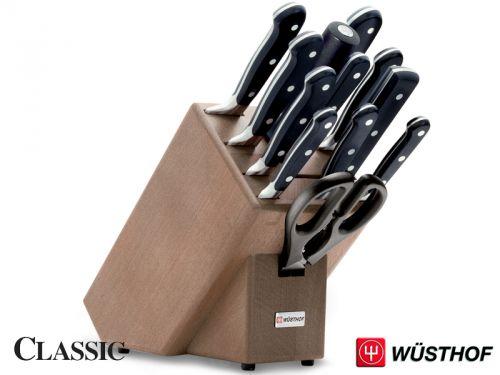 Wüsthof CLASSIC Blok s noži 12 ks cena od 16339 Kč
