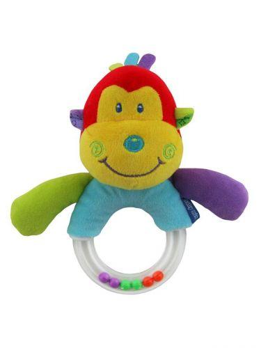 Baby Mix opička chrastítko
