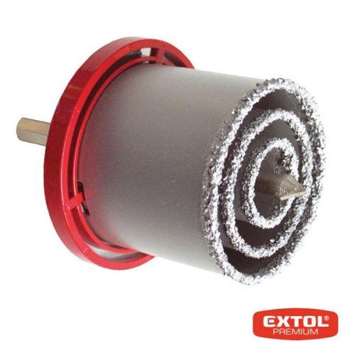 EXTOL Vrtáky vykružovací s karbidovým ostřím 3 ks