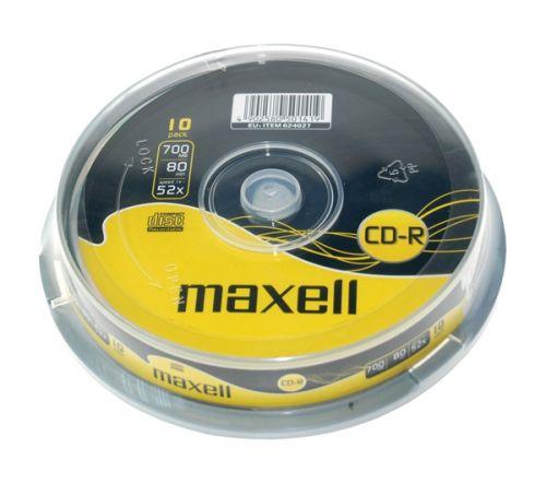 MAXELL CD-R 700 MB 52x 10 ks