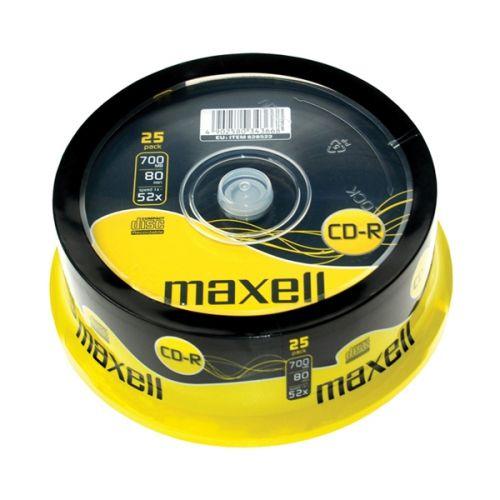 MAXELL CD-R 700 MB 52x 25 ks
