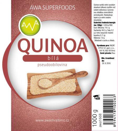 AWA superfoods Quinoa bílá 1000 g