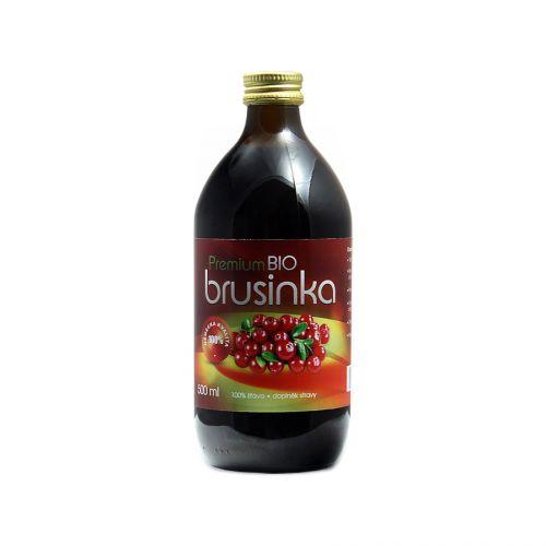 Sonnenmacht Brusinky 100% šťáva 500 ml