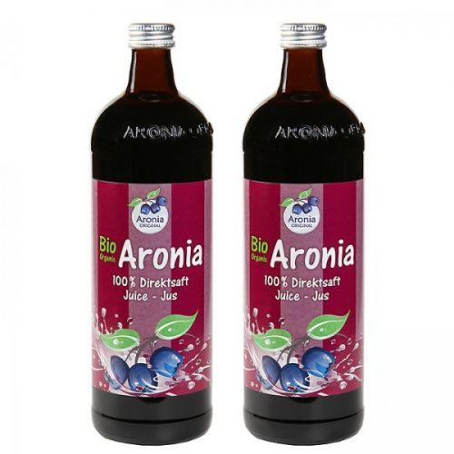 Aronia original Arónie BIO 100% přímo lisovaná šťáva 2x0,7 l