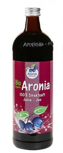 Aronia original Arónie BIO 100% přímo lisovaná šťáva 0,7 l