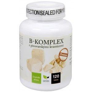 Natural Medicaments B-komplex s pivovarskými kvasnicemi Premium 120 tablet