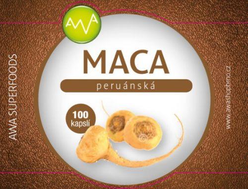 AWA superfoods Maca peruánská 100 tobolek