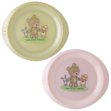Rotho Babydesign Cestovní talířek 2 ks cena od 139 Kč