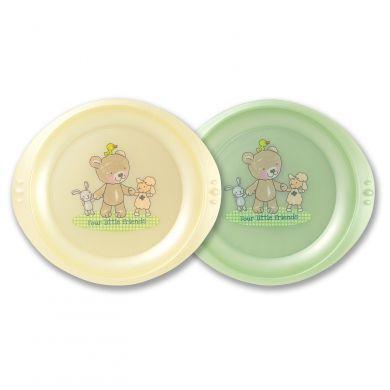 Rotho Babydesign Jidelní talíř 2 ks cena od 0 Kč