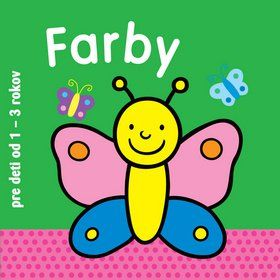 Farby - pre deti od 1 do 3 rokov cena od 63 Kč
