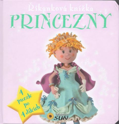 Marcela Grez: Princezny - Říkanková puzzle kniha cena od 96 Kč