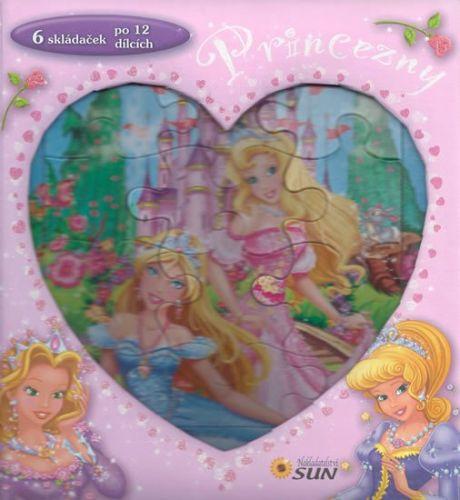 Princezny 6 skládaček po 12 dílcích cena od 159 Kč