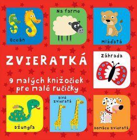 Svojtka Zvieratká 9 malých knižočiek pre malé ručičky cena od 190 Kč