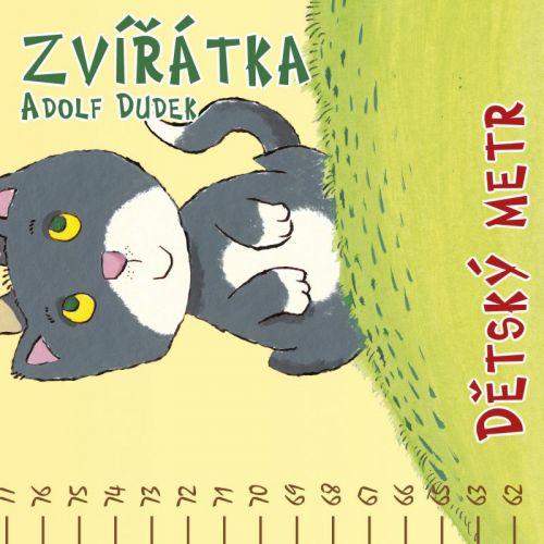 Adolf Dudek: Dětský metr: Zvířátka cena od 29 Kč