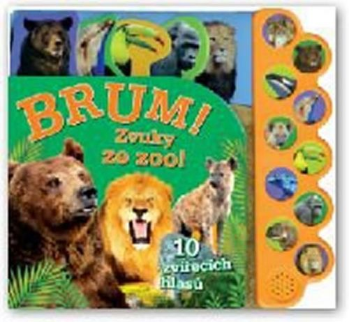 Brum! Zvuky ze zoo! cena od 223 Kč