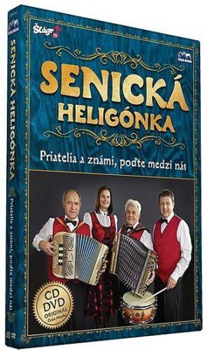 Senická heligonka - Priatelia známí - CD+DVD cena od 262 Kč