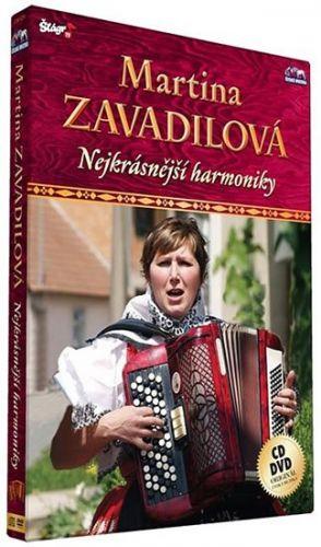 Zavadilová Martina - Nejkrásnější harmoniky - CD+DVD cena od 211 Kč