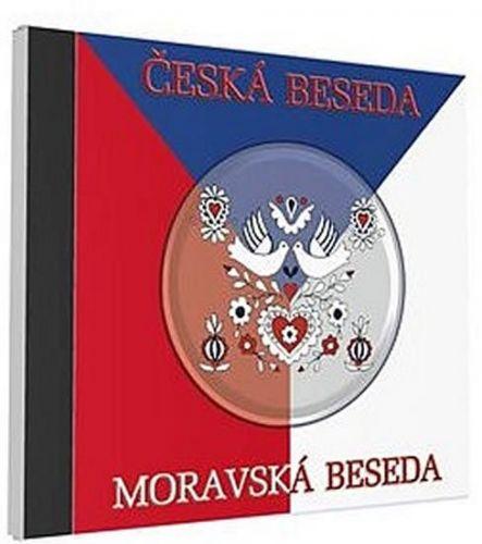 Česká a moravská beseda - 1 CD cena od 77 Kč