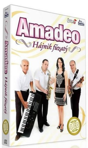 Amadeo - Hájnik fúzatý - 4 CD cena od 353 Kč