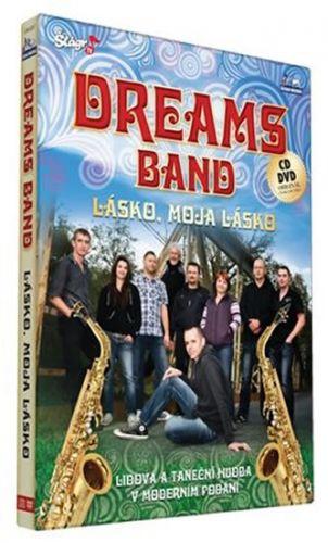 Dreams Band - Lásko, moje lásko - CD+DVD cena od 200 Kč