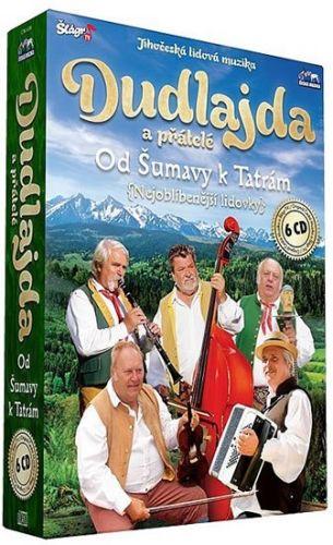 Dudlajda - Od Šumavy k Tatrám - 6 CD cena od 392 Kč