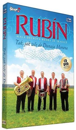 Rubín - Tak jak teče do Dunaja Morava - CD+DVD cena od 196 Kč
