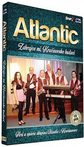 Atlantic - Zahrajce mi, Kračinovske hudáci - CD+DVD cena od 196 Kč