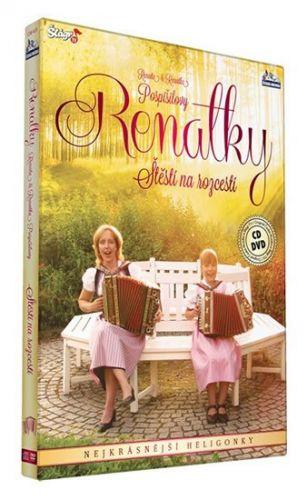 Renalky - Štěstí na rozcestí - CD+DVD (Renata a Renatka Pospíšilovy) cena od 235 Kč