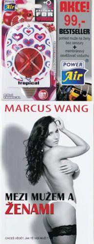 Marcus Wang: Mezi mužem a ženami + dárek zdarma membránový osvěžovač vzduchu cena od 0 Kč