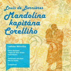 Louis de Bernières: Mandolína kapitána Corelliho - audio kniha cena od 196 Kč