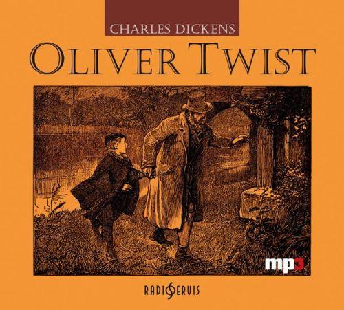 Charles Dickens: Oliver Twist - CD mp3 cena od 125 Kč