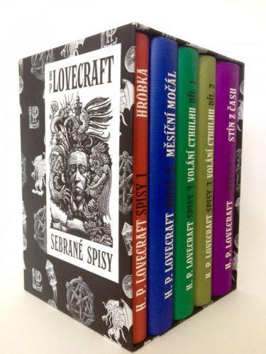 Howard Philip Lovecraft: Sebrané spisy H. P. Lovecrafta BOX cena od 947 Kč