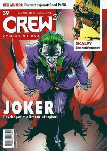 Kolektiv: Crew2 - Comicsový magazín 39/2014 cena od 103 Kč