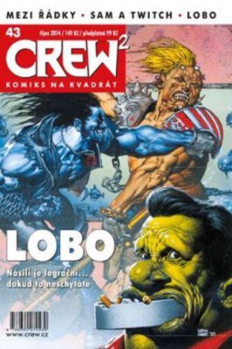 Kolektiv: Crew2 - Comicsový magazín 43/2014 cena od 97 Kč