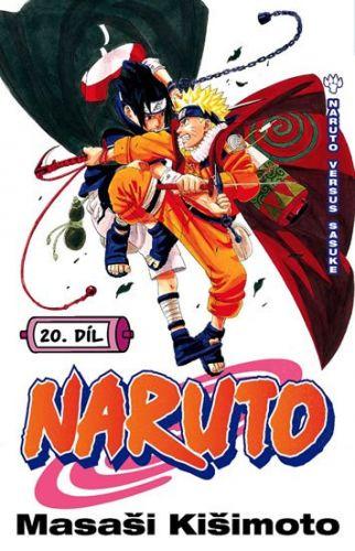 Masaši Kišimoto: Naruto 20 - Naruto versus Sasuke cena od 122 Kč