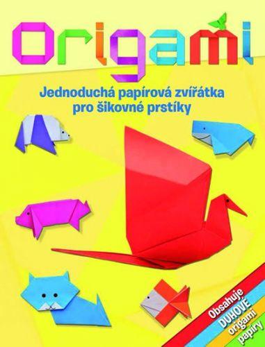 Lisa Milesová: Origami - Jednoduchá papírová zvířátka pro šikovné prstíky cena od 159 Kč