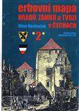 Milan Mysliveček: Erbovní mapa hradů, zámků a tvrzí v Čechách 2 cena od 214 Kč