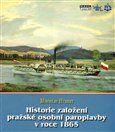 Miroslav Hubert: Historie založení pražské osobní paroplavby v roce 1865 cena od 122 Kč