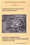 Markéta Růčková: Archiv Matouše Konečného II cena od 329 Kč