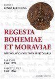Lenka Blechová: Regesta Bohemiae et Moraviae cena od 228 Kč