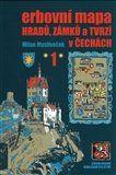 Milan Mysliveček: Erbovní mapa hradů, zámků a tvrzí v Čechách 1 cena od 174 Kč