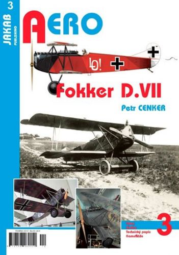 Cenker Petr: Fokker D.VII cena od 60 Kč