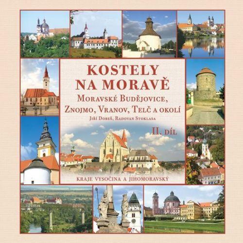 Radovan Stoklasa: Kostely na Moravě II cena od 185 Kč